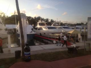 Ferretti at Miami Boat Show